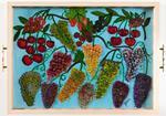 cherey, rasberry, grapes, strawbery, blackbery